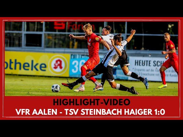 VfR Aalen - TSV Steinbach Haiger 1:0 (Regionalliga Südwest I #VFRTSV )
