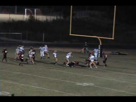 Matt Smith Williams High School Football 2009/2010 Highlights Burlington, NC
