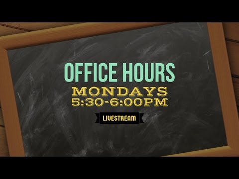 Office Hours-2/6/2017