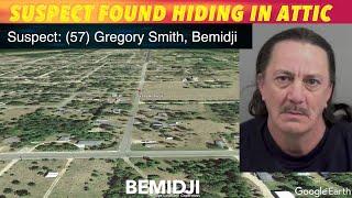 Bemidji Suspect Found Hiding In Attic