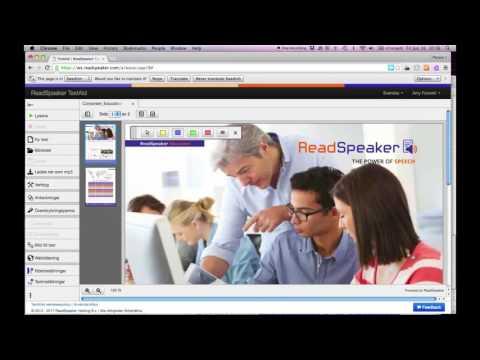ReadSpeaker TextAid: Överstrykningspenna - YouTube