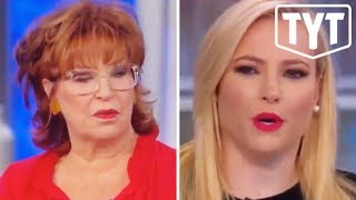 Meghan McCain and Joy Behar Fight Over Bloomberg
