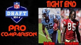 2014 NFL DRAFT | Pro Comparisons | Top 5 Tight Ends | Eric Ebron