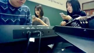 [Lê Cát Trọng Lý] - Tám Chữ Có - cover by Nho Kiên (piano) - Thảo Vân - Bông (guitar) :))