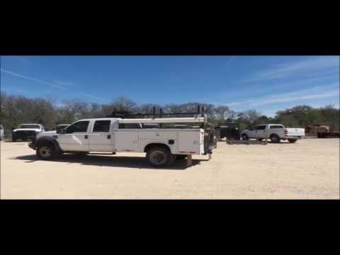2009 Ford F550 Crew Cab utility truck for sale   no-reserve Internet auction June 21, 2017