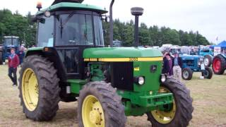 John Deere Tractors Vintage Agricultural Machinery Club Rally Strathmiglo Fife Scotland