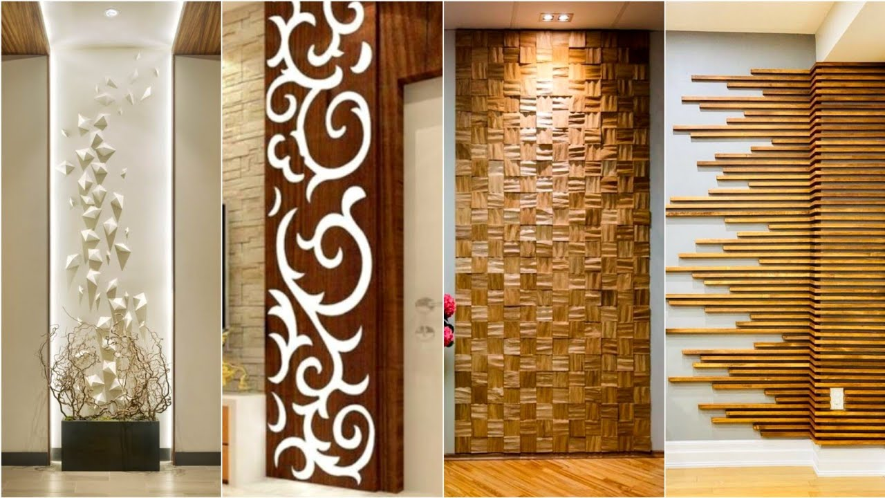 Top 100 Living Room Wall Decorating Ideas 2021   Home interior wall design    Wall Cladding Ideas