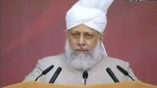 Jalsagah Inspection & Huzur's Address (PART 2) 34th Jalsa Salana Germany 2009