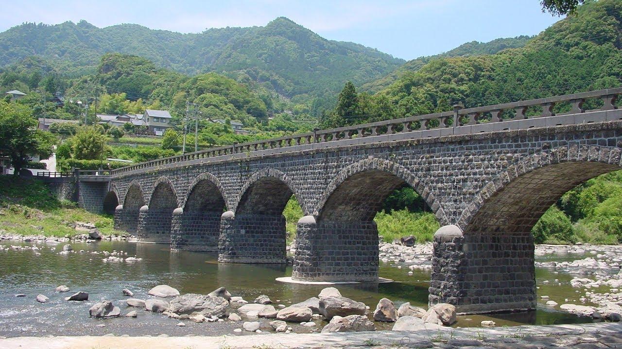 デジカメ紀行 尾張から 8連石橋 ...