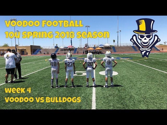 10U VooDoo vs Bulldogs 4- 21-2018