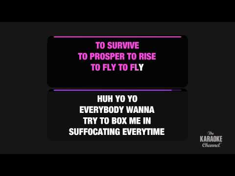 "Fly in the Style of ""Nicki Minaj feat. Rihanna"" karaoke video with lyrics (no lead vocal)"