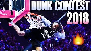 FRENCH LEAGUE DUNK CONTEST 2018!!!