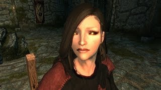 Skyrim - Babette The Vampire (RANDOM ENCOUNTER)