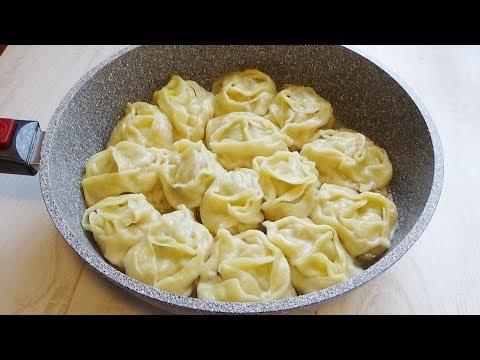 БЕЗ МАНТОВАРКИ сочные Манты и почему я раньше так не готовила!?