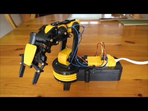 Robotic Arm Kit Gadgets Review Geek Youtube