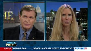 Newsmax Prime | Ann Coulter on why she believes Donald Trump will win the election