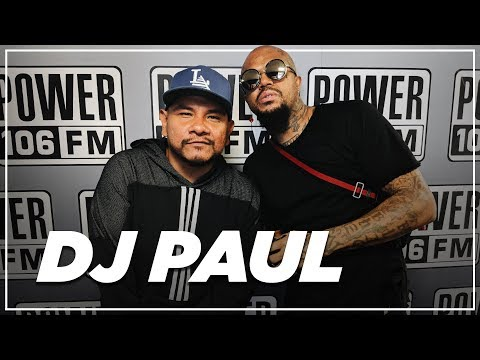 "DJ Paul on producing Drake's ""Talk Up"" featuring Jay-Z & Why There Won't be a Three 6 Mafia Reunion"