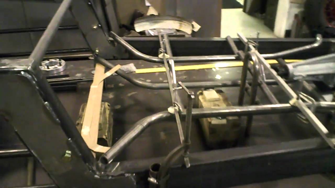 1934 Ford Pickup - Progress Chassis - YouTube