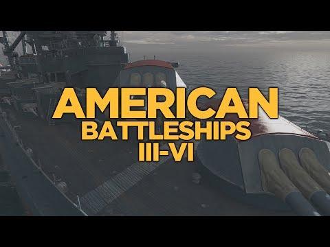 World of Warships - American Battleships III-VI