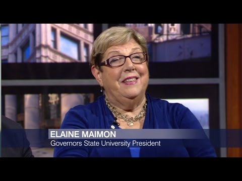 Pres. Maimon Appears on Chicago Tonight Again to Discuss Illinois University Budgets
