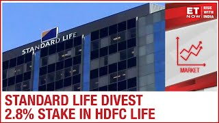 Standard Life divest 2.8% stake in HDFC Life