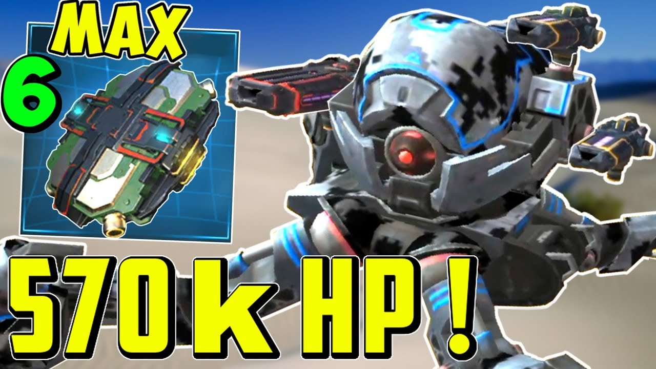 UNSTOPPABLE 570K HP INVADER Mk2 & Max Armor Modules War Robots Gameplay WR