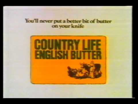 Country Life Butter 1987 UK TV Advertisment Happy Christmas from the  Buttermen!