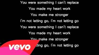 Not Letting Go Tinie Tempah Feat. Jess Glynne Lyrics