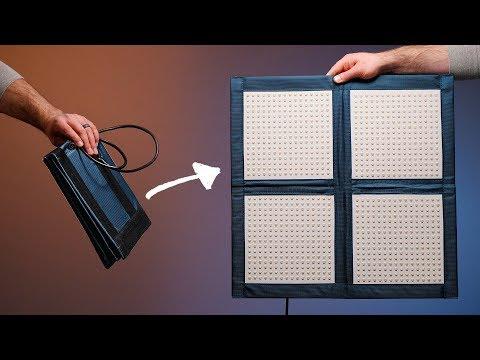 Foldable LED Video Light! Intellytech LiteCloth LC160