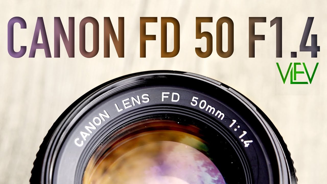 Canon FD 50mm F1 4 Review | Vintage Lenses For Video