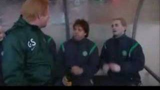 Only an excuse? Gordon Strachan brings on a sub