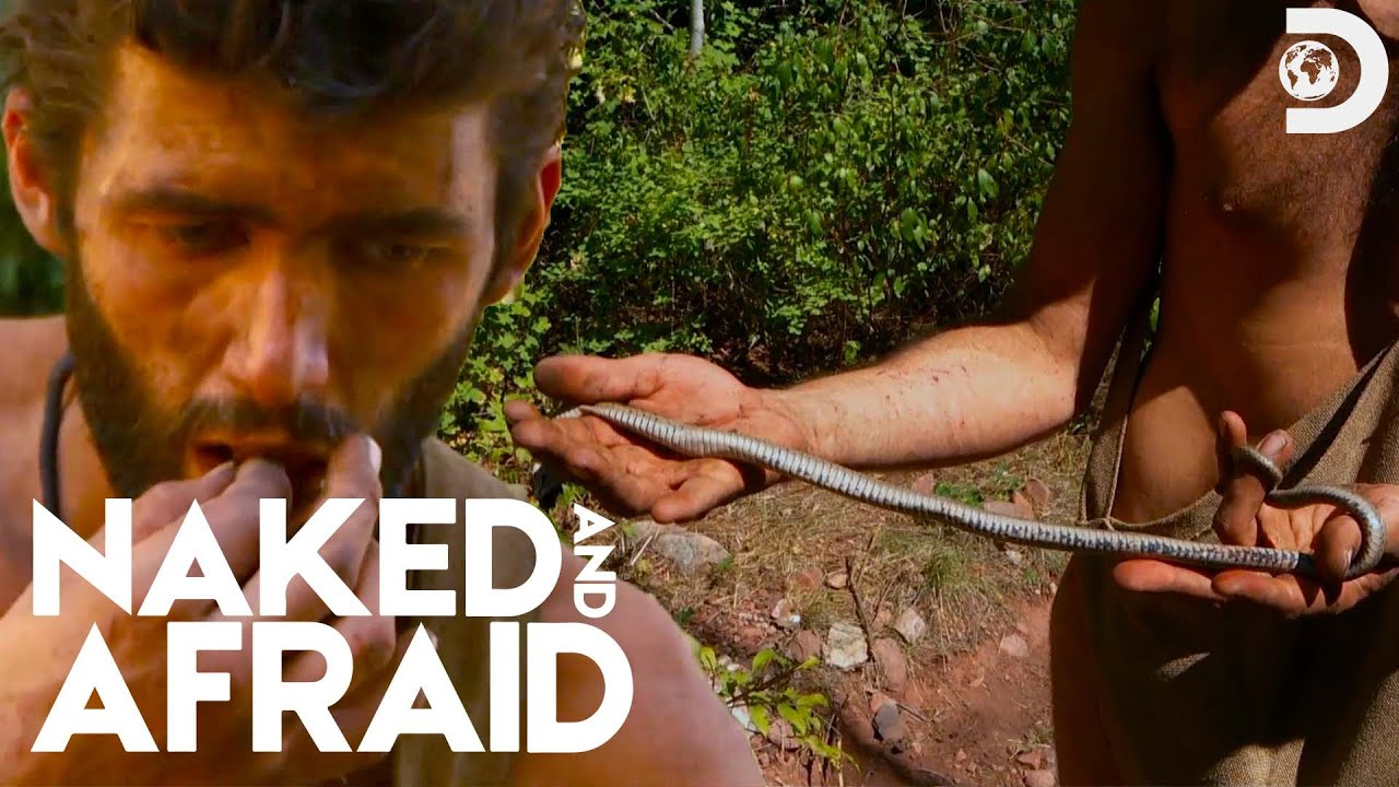 Clothes Off, Game On | Naked and Afraid - YouTube