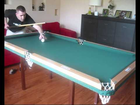 home made pool table cushions test youtube rh youtube com pool table rails 7ft pool table rails canada