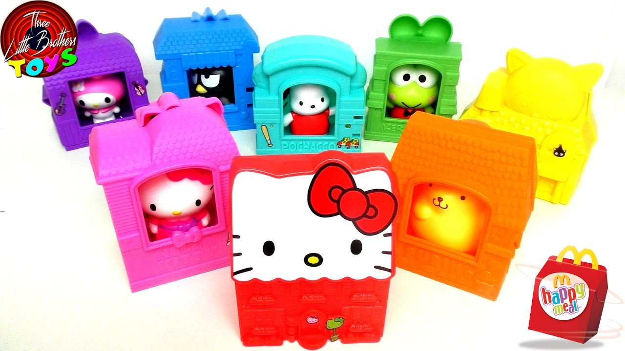 Hello Kitty Mcdonald S Toys : December hello sanrio mcdonald s happy meal toys