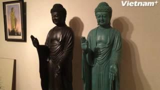 Linh thiêng bức tượng Phật bằng đồng lớn nhất thế giới ở Nhật Bản