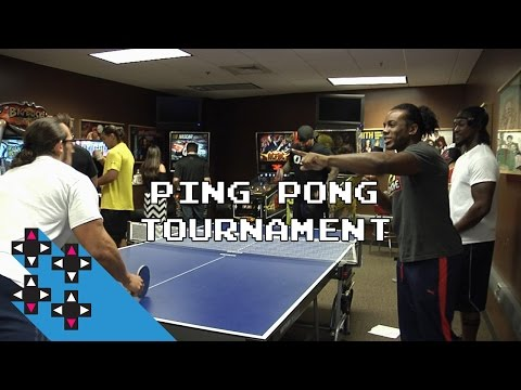 Ping Pong Tournament and Flash Bang Hot Sauce — Gamer Gauntlet
