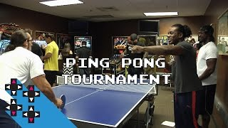 Ping Pong Tournament & Flash Bang Hot Sauce — Gamer Gauntlet