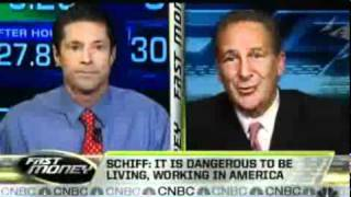 Peter Schiff on CNBC  Fast Money 12/15/2010