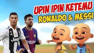 Upin ipin Bertemu Ronaldo Dan Messi , ipin senang ! GTA Lucu