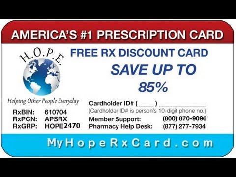 My Hope RX Card
