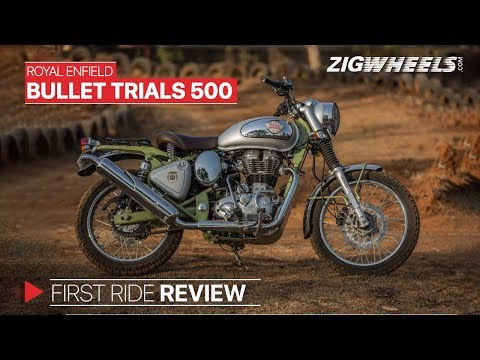 Royal Enfield Bullet Trials 500 | RE's Factory Custom