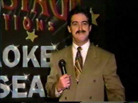 Cape Breton karaoke clip 1992