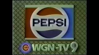 WGN Chicago Cubs Pepsi Sponsor Plug (Aug. 4, 1984)