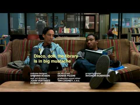 "Abed & Troy - ""La Biblioteca"" spanish rap from the TV series ""Community"""