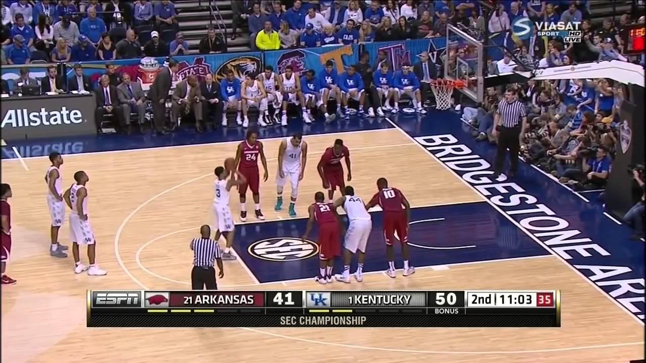 Kentucky Wildcats Basketball Full 2015 16 Schedule: Arkansas Razorbacks Vs Kentucky Wildcats