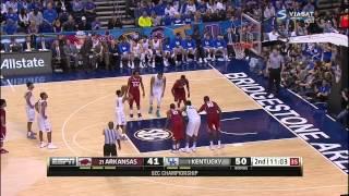 full basketball | Arkansas Razorbacks vs Kentucky Wildcats 15. 03. 2015 fixed sound