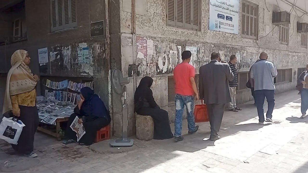 الوطن المصرية:مروحة في الشارع وجرائد على الرأس.. المصريون يواجهون ارتفاع الحرارة