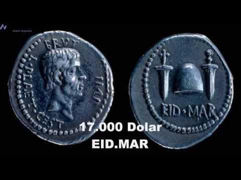 Antik Yunan Ve Romanın En Değerli Paralarının Gerçek Değerleri !!