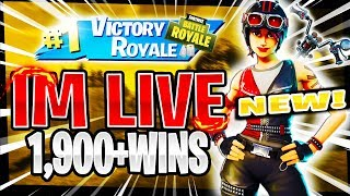 NEW* BIKER SKINS! RANK #9 PS4 SOLO PLAYER! | 1,778 SOLO WINS | Fortnite Battle Royale LIVE
