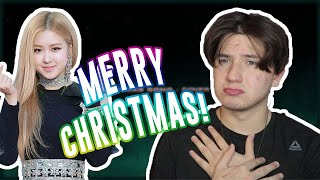 ROSÉ - 'THE CHRISTMAS SONG (Nat King Cole)' COVER REACTION   I WANT A BP COMEBACK FOR CHRISTMAS